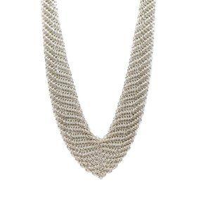 Tiffany & Co. Elsa Peretti Mesh Bib Necklace